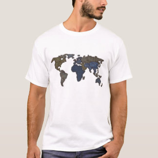 Jeans World Map T-Shirt