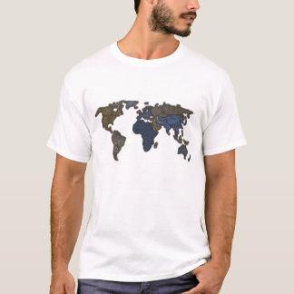 Jeans World Map T-Shirt