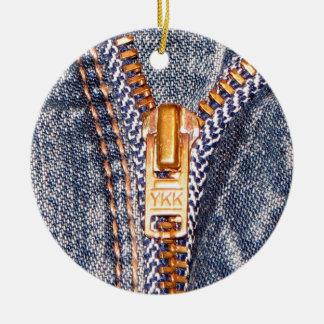 Jeans Zipper Christmas Ornaments
