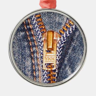 Jeans Zipper Ornaments