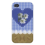 JeansOnBlue - ® Fitted™ Fabric-ed Hard Case For iPhone 4
