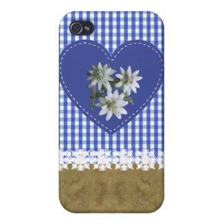 JeansOnBlue - Tela-ed de Fitted™ del ® difícilment iPhone 4 Cárcasa