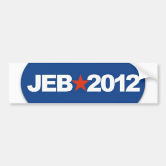 jeb 2012 bumper sticker