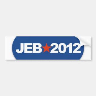 jeb 2012 bumper sticker