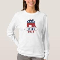 Jeb 2016 GOP Elephant Design T-Shirt