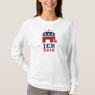 Jeb 2016 GOP Elephant Design T-Shirt