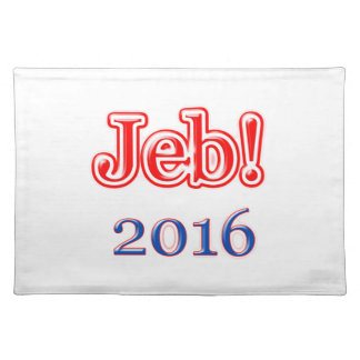 Jeb! 2016 placemat