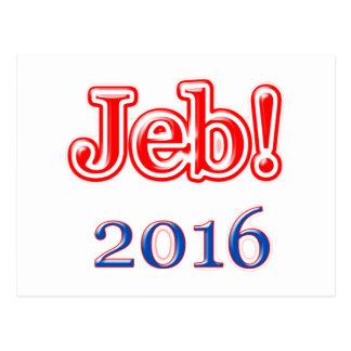 Jeb! 2016 postcard