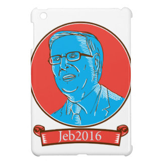 Jeb 2016 President Drawing Case For The iPad Mini