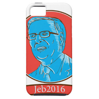 Jeb 2016 President Drawing iPhone SE/5/5s Case