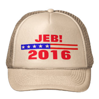 Jeb 2016 Presidential Election Campaign Trucker Hat