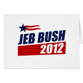 JEB BUSH 2012 GREETING CARD