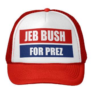 JEB BUSH 2012 TRUCKER HAT