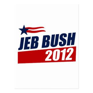 JEB BUSH 2012 POSTCARD