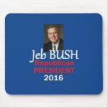 Jeb Bush 2016 Alfombrillas De Ratón