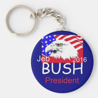 Jeb BUSH 2016 Basic Round Button Keychain