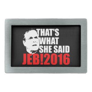 Jeb Bush 2016 Belt Buckle
