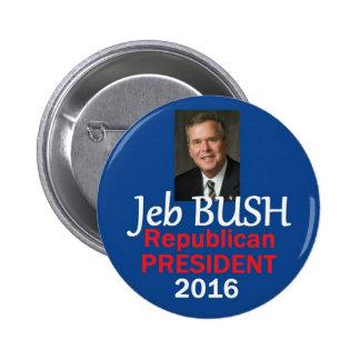 Jeb BUSH 2016 Pinback Buttons