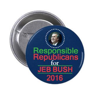 Jeb BUSH 2016 Button