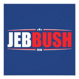 Jeb Bush 2016 (estrellas y rayas - azul) Fotos