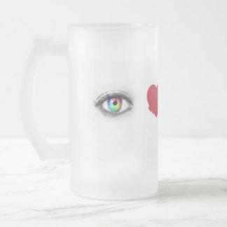 Jeb BUSH 2016 Frosted Glass Beer Mug
