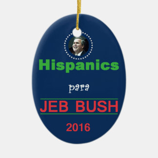 Jeb BUSH 2016 Christmas Tree Ornaments