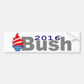 Jeb Bush 2016 Pegatina Para Auto