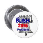 Jeb Bush 2016 Pin