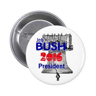 Jeb Bush 2016 Pin Redondo 5 Cm