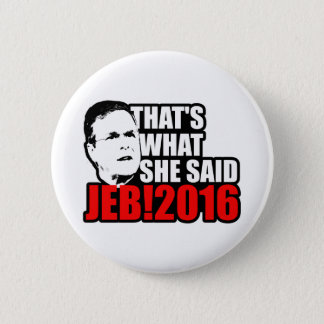 Jeb Bush 2016 Pinback Button