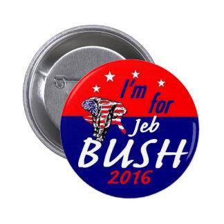 Jeb BUSH 2016 Pinback Button
