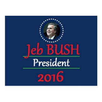 Jeb BUSH 2016 Postcard