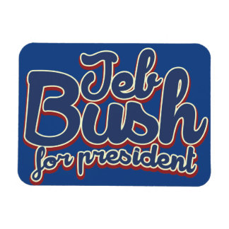 Jeb Bush 2016 Vinyl Magnet