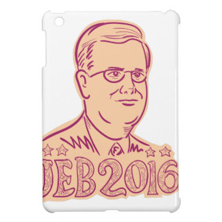 Jeb Bush 2016 President Cartoon iPad Mini Case
