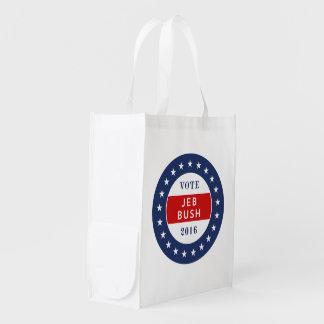 Jeb Bush 2016 Reusable Grocery Bag