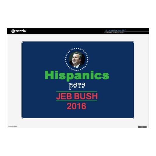 Jeb Bush 2016 Skins Para Portátiles
