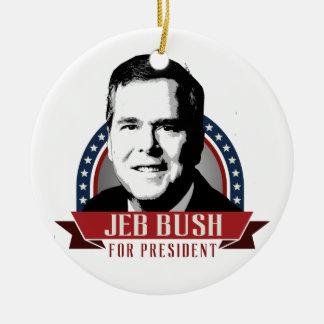 JEB BUSH 2016 SPANGLE -.png Ornament