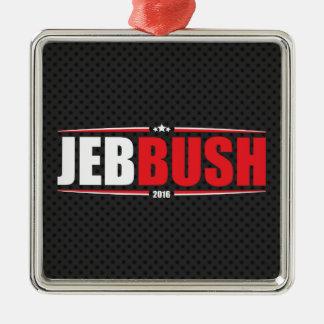Jeb Bush 2016 (Stars & Stripes - Black) Christmas Ornament