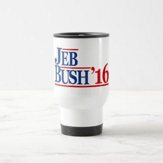 Jeb Bush 2016 Taza De Viaje De Acero Inoxidable