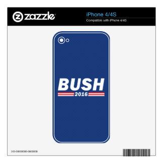 Jeb Bush, Bush 2016 Calcomanías Para El iPhone 4