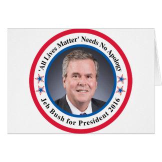 Jeb Bush Card