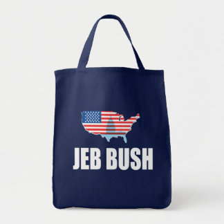 JEB BUSH Election Gear Canvas Bags
