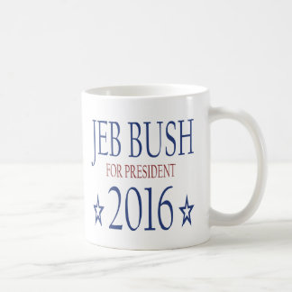 Jeb Bush for President 2016 Classic White Coffee Mug