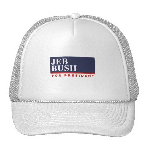 JEB BUSH FOR PRESIDENT (Banner) Trucker Hat