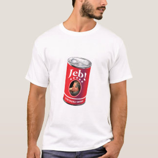 Jeb Bush for President Humor, Low Energy Drink T-Shirt