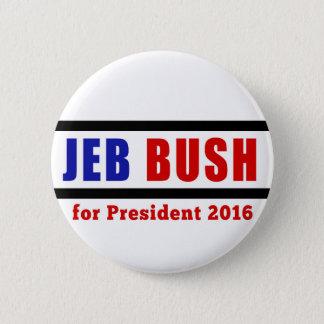Jeb Bush for President in 2016 Button