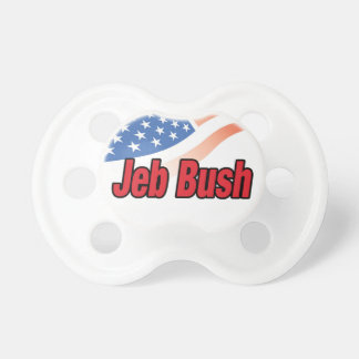 Jeb Bush for president on 2016 Pacifier