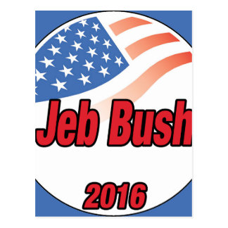 Jeb Bush for president on 2016 Postcard