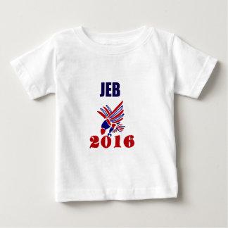 Jeb Bush for President Political Art Baby T-Shirt
