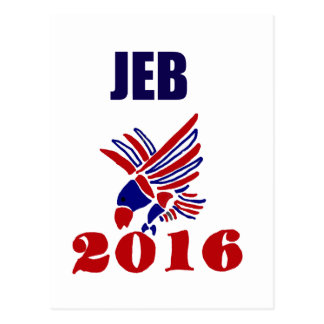 Jeb Bush for President Political Art Postcard